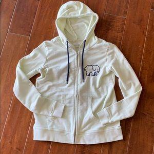 Ivory Ella pale green hoodie EUC